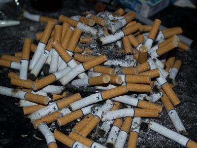 La Montaña de Cigarrillos
